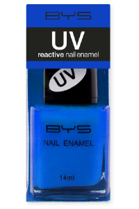 <b>BYS UV Nail Polish - Blue Bolt</b>